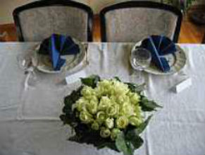 Dekket bord